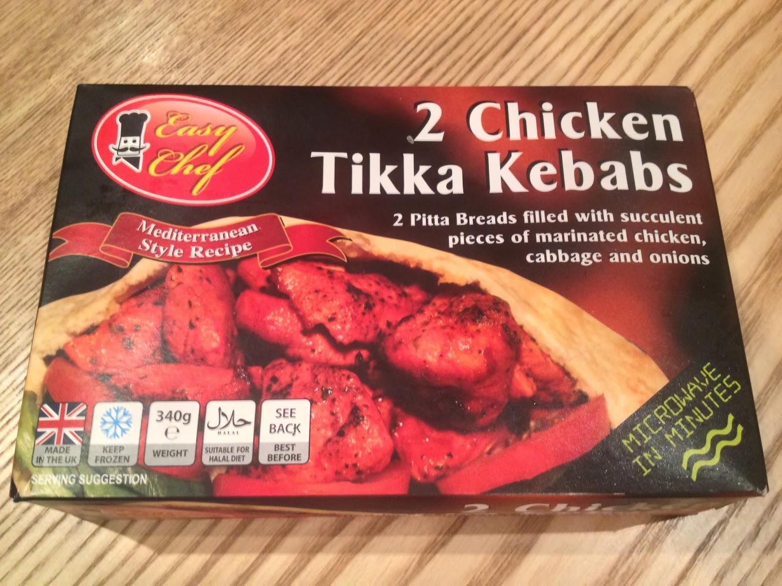 Review   Easy Chefu0027s Chicken Tikka Kebab