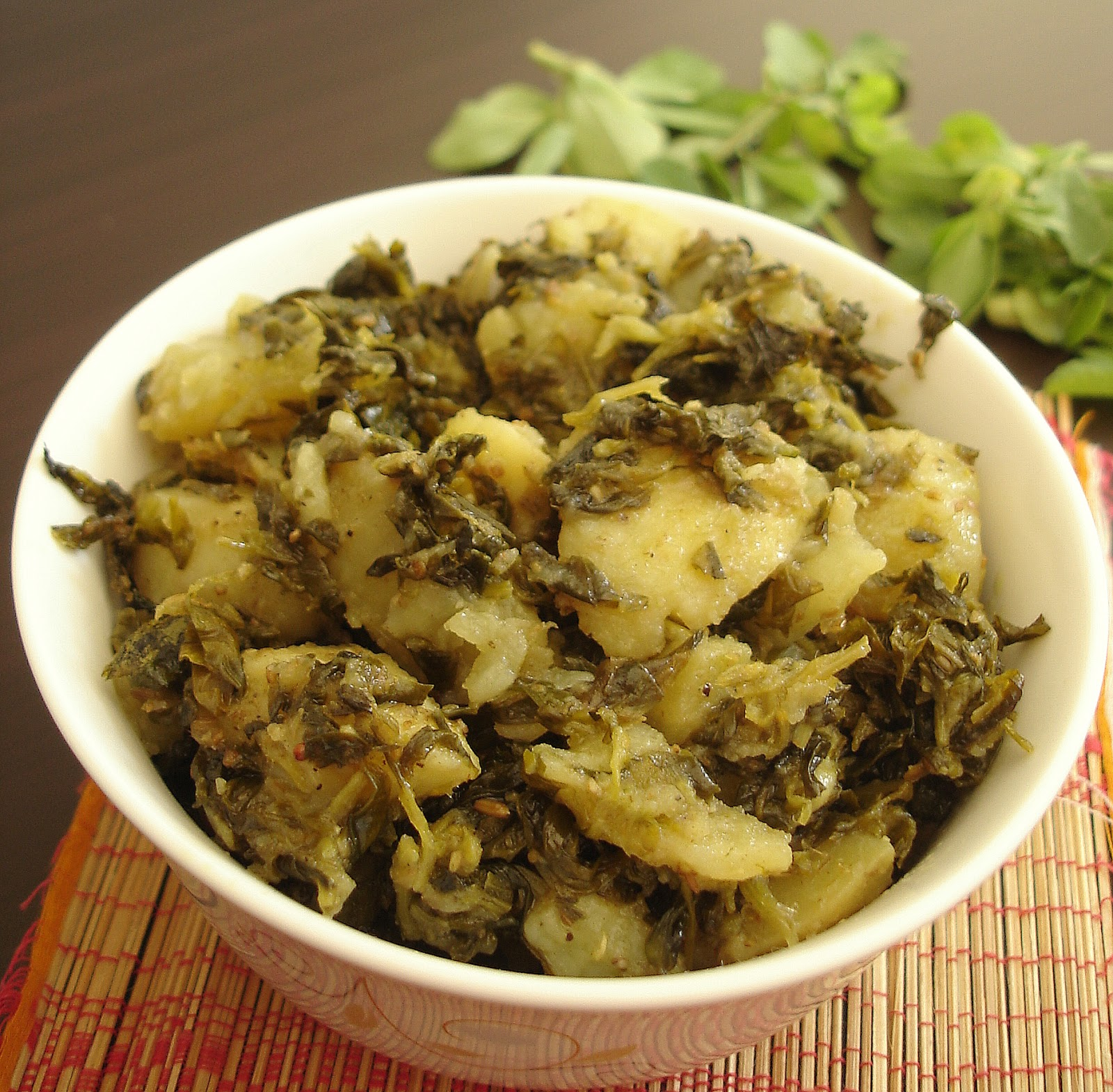 Aalu Methi | Potato Fenugreek
