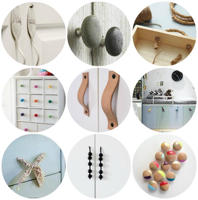 9 tiradores DIY para tus muebles