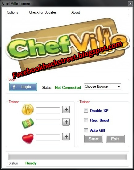 ... Free Facebook Game Cheats 2014 !: Chefville Cheat-Hack 2014 No Survey