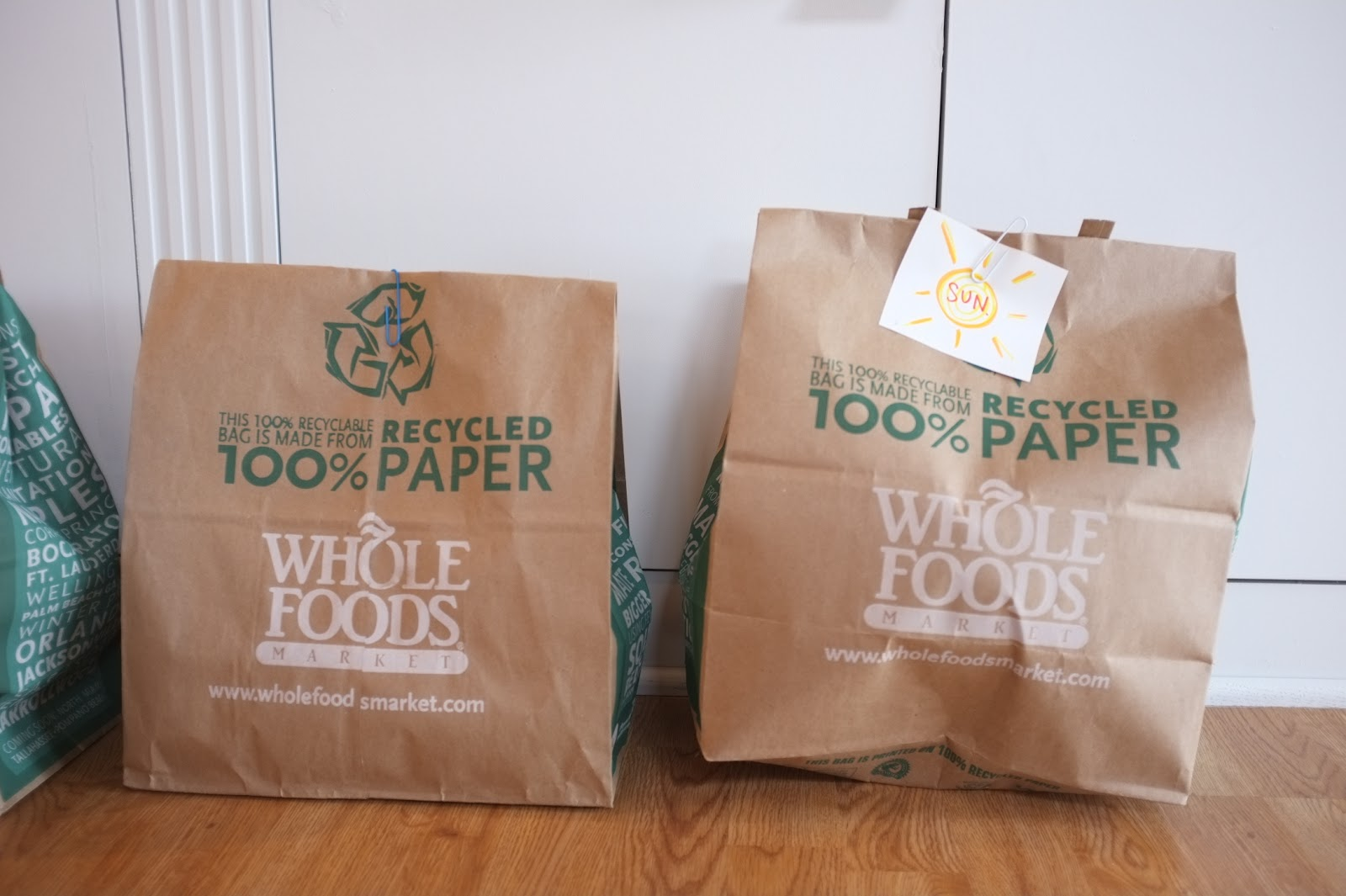 Paper bag activity - While We Were Away An Activity Bag For Each Day