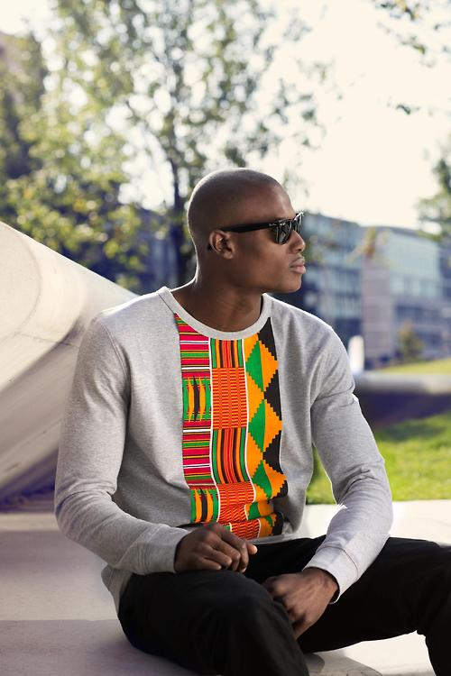 Men's African fashion designer and design piece