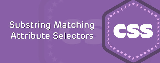 substring matching attribute selectors