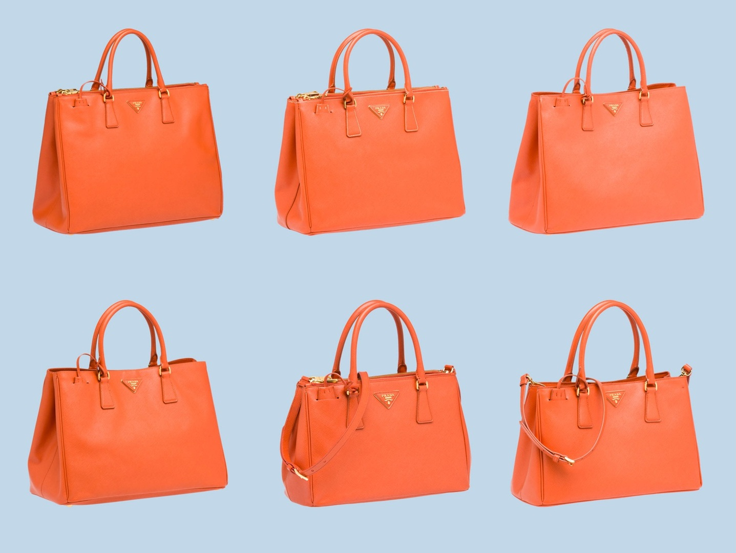 exact replica handbags - Prada+Galleria+Tote+Papaya+02.jpg