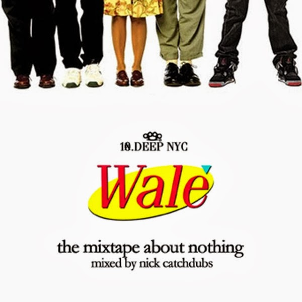 Wale - The Mixtape About Nothing  Cover