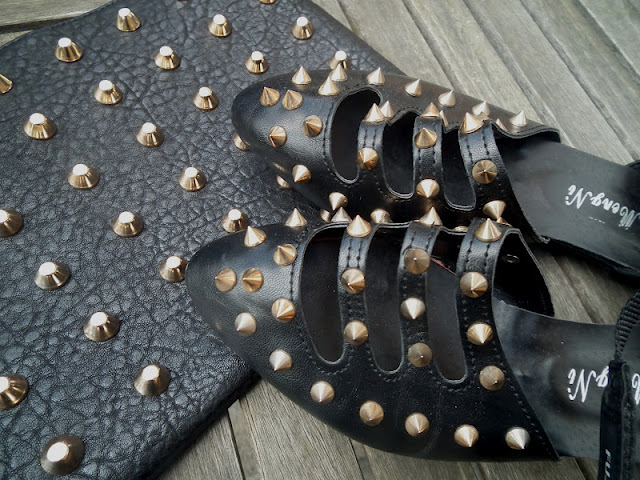 Sammi Jackson - Gold Studded Accessories