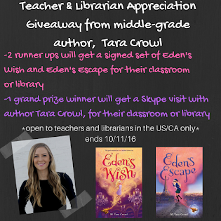 Teacher and Librarian Appreciation Giveaway!