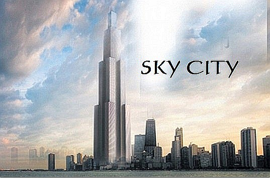 SKYCITY :World's Tallest Skyscraper to Be Built in 210 Days in China