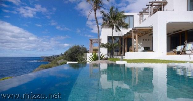 Desain Rumah Minimalis Modern Pinggir pantai