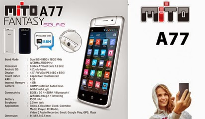 Custom ROM Mito A77 Fantasy Selfie - Galaxy S4
