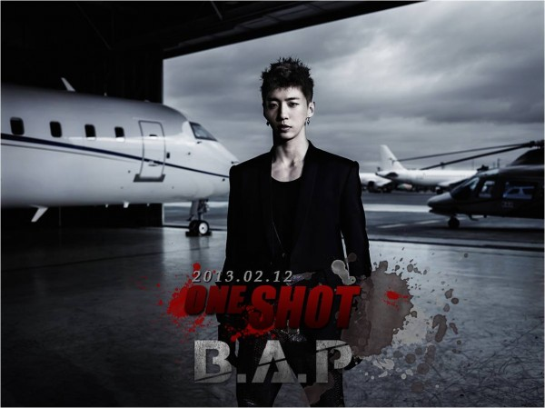 B.A.P One Shot mv photo teaser Bang Yong Guk