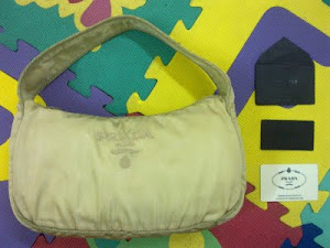 Prada Crispy Nylon Hobo Bag(SOLD)