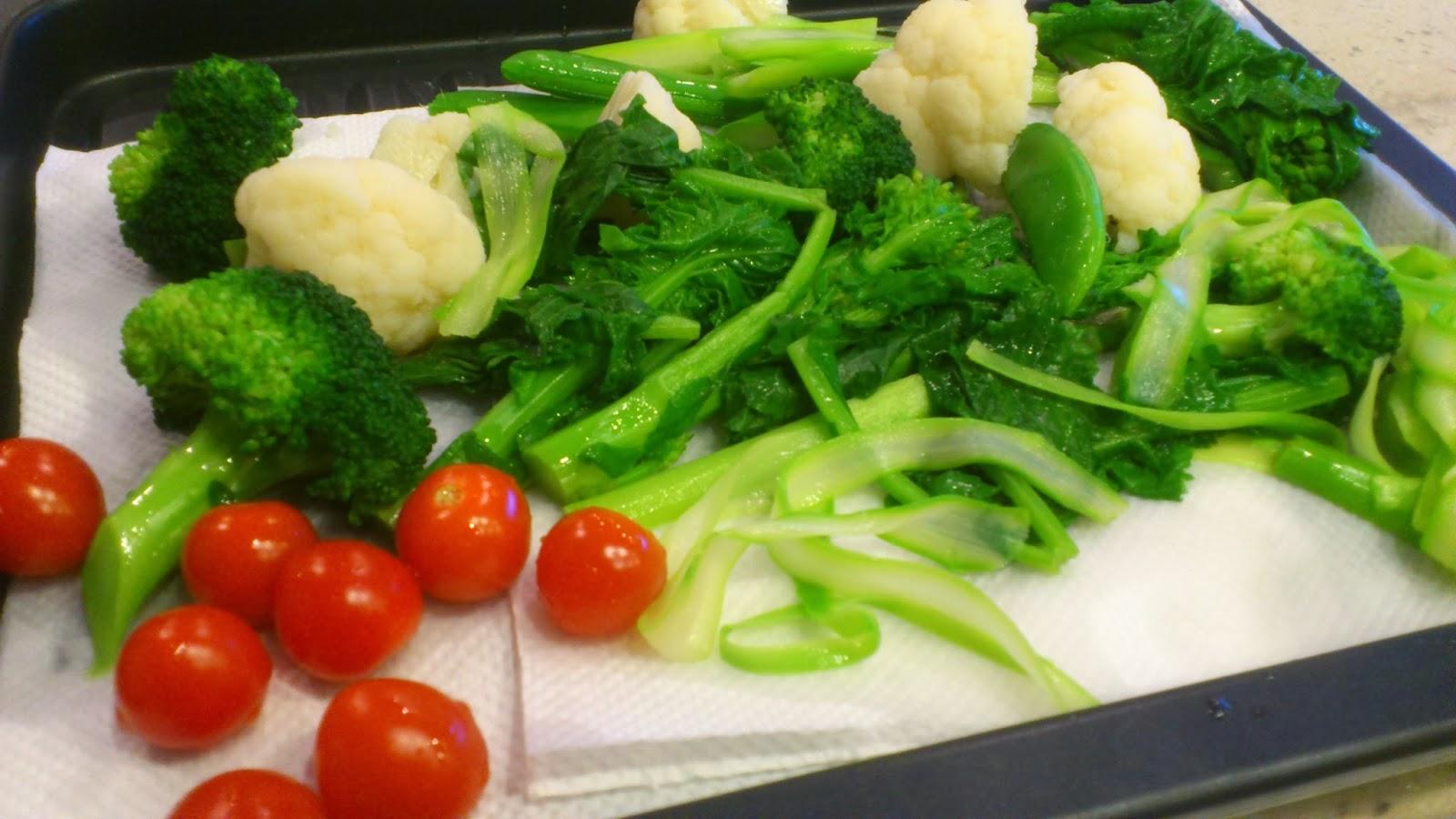 大崎・戸越(品川区)お客様に出張シェフ:ヘルシーなお野菜たっぷり