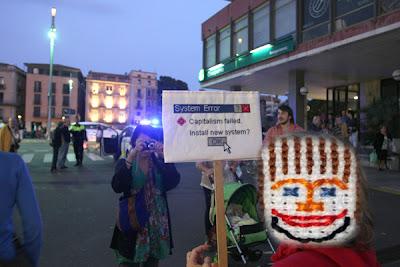 manifestació Girona 15 O