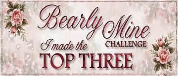 I made Top 3 at Bearly Mine February Challenge - Vintage Love
