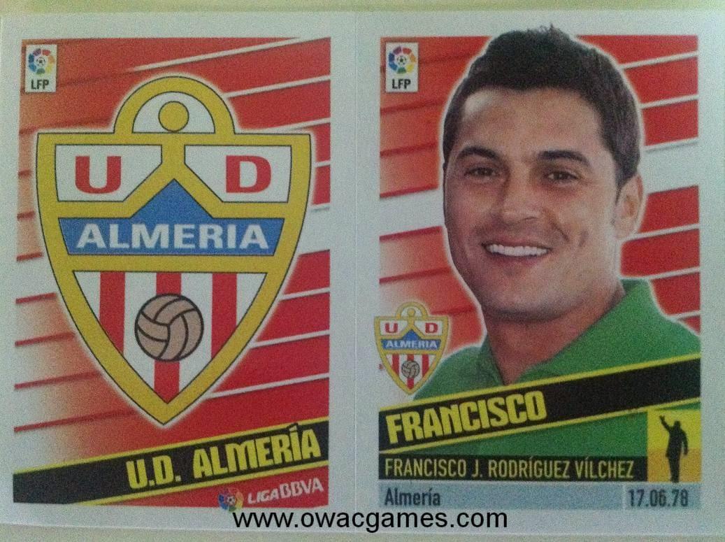 Liga ESTE 2013-14 Almeria Escudo - Entrenador