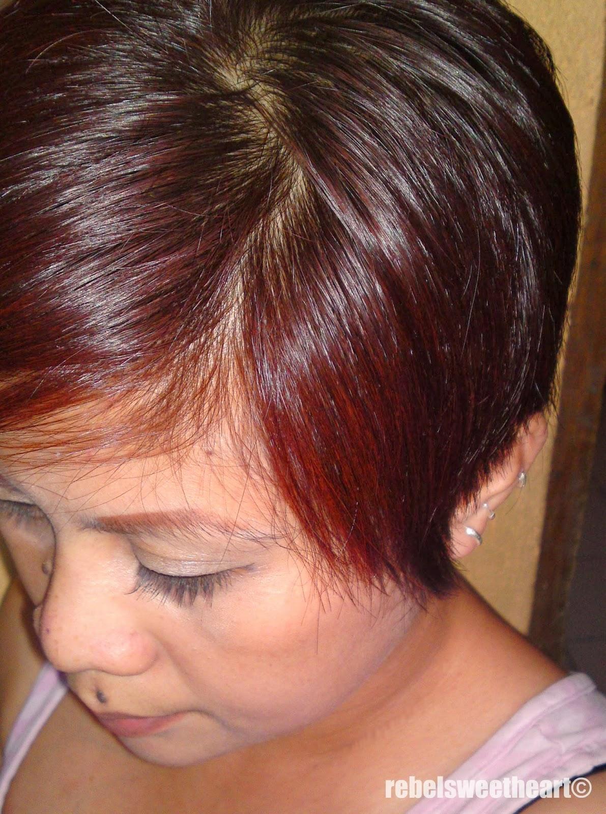 The Rebel Sweetheart Hair Story Tony Moly Berry Trendy Hair