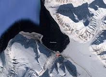 Cidade de Longyearbyen em Spitsbergen