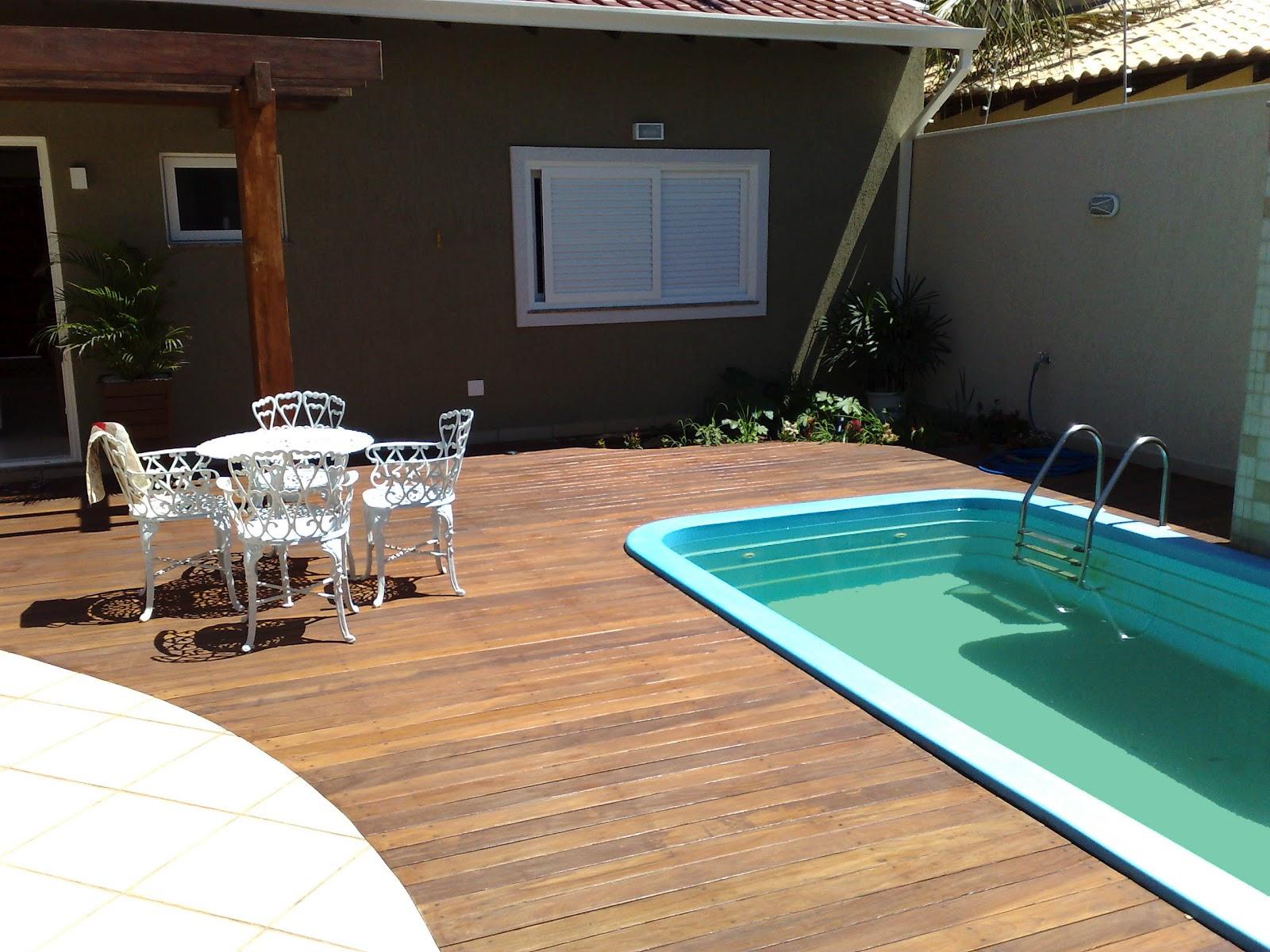Deck para piscina em joinville deck para piscina for De k piscina