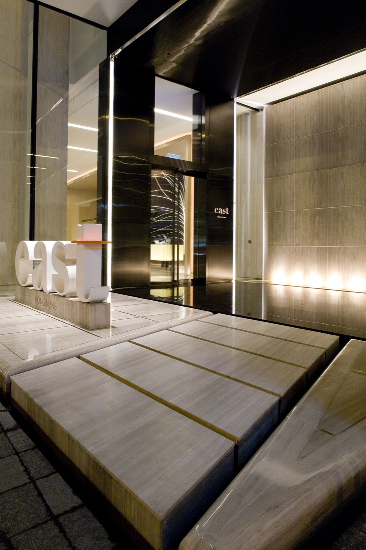 East hotel interior by cl3 architects housevariety for Hotel entrance design