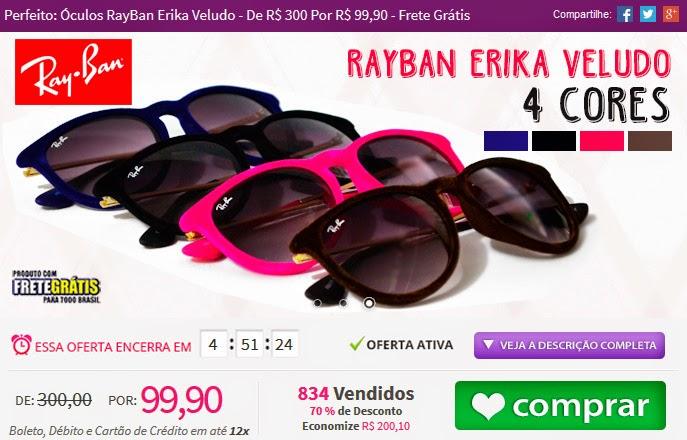 http://www.tpmdeofertas.com.br/Oferta-Perfeito-Oculos-RayBan-Erika-Veludo---De-R-300-Por-R-9990---Frete-Gratis-893.aspx
