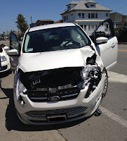 ford cmax crash