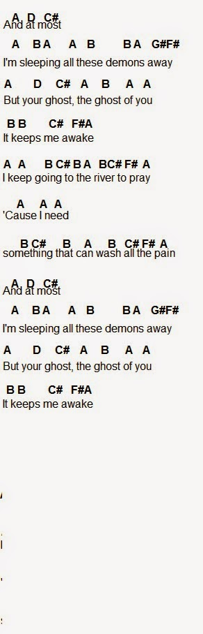Flute Sheet Music Ghost