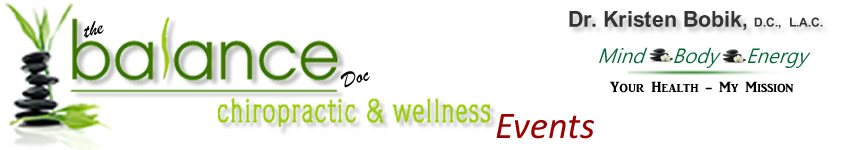 Events - Balance Chiropractic &amp; Wellness