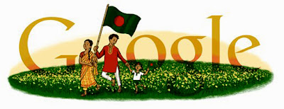 Google Doodle Bangladesh 2013