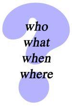 ponto de interrogação
