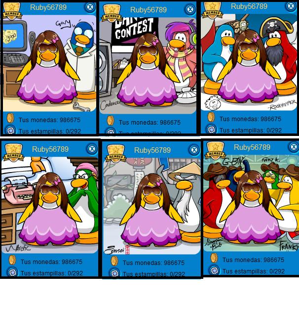 Códigos para Club Penguin Atlantic