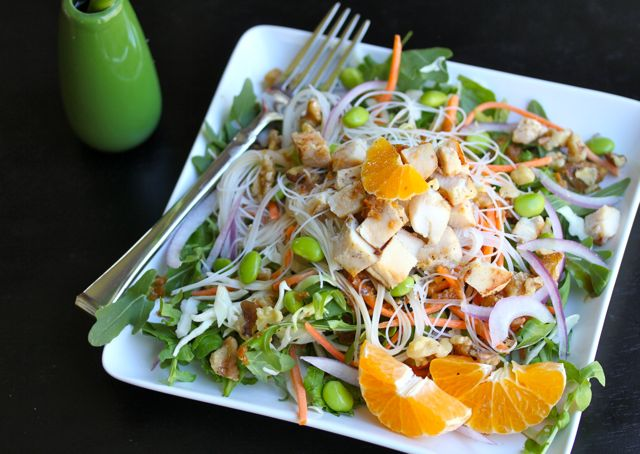 asian inspired salad