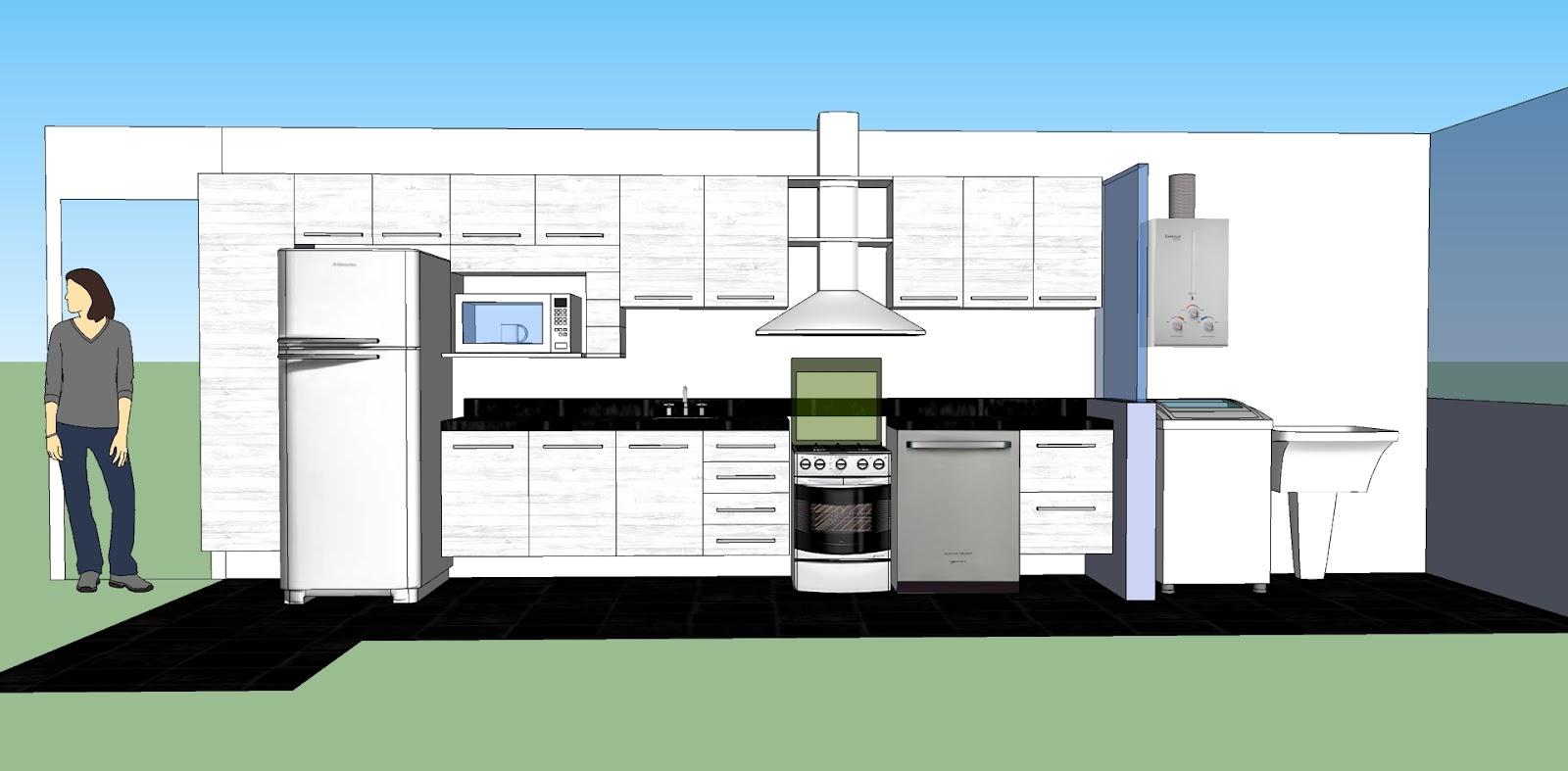 Diário do Nosso Apê: Mudança de planos na cozinha #087DC3 1600 787