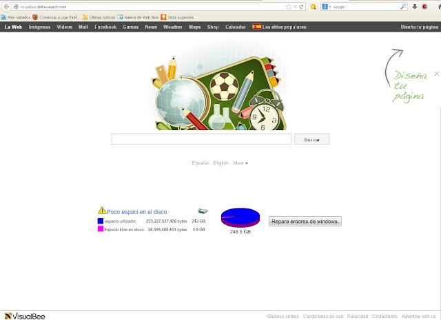 Visualbee.delta-search.com Redirect