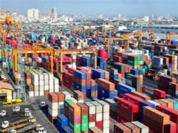 cargas de navios, contêineres, contêiner, produtos a granel em navio