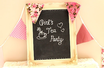 How to throw a girl's tea party