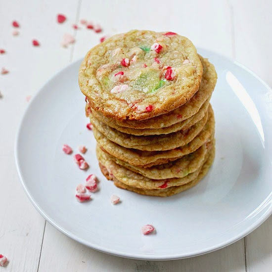 ... always room for dessert!: Peppermint white chocolate chip cookies