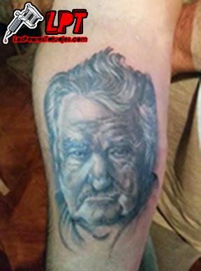 """Tatuaje José """"Pepe"""" Mujica"""