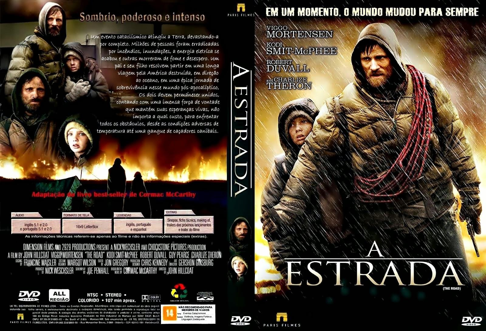A Estrada DVD Capa