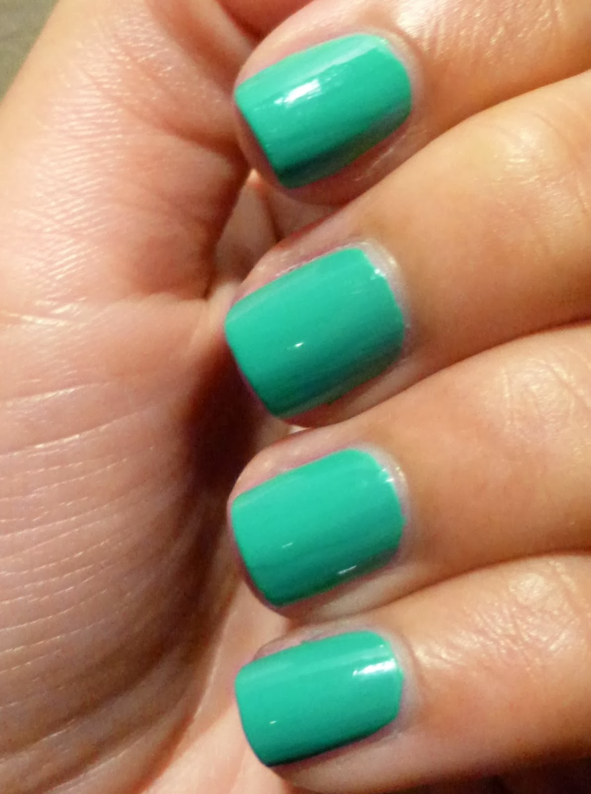 how to make nail polish go on better