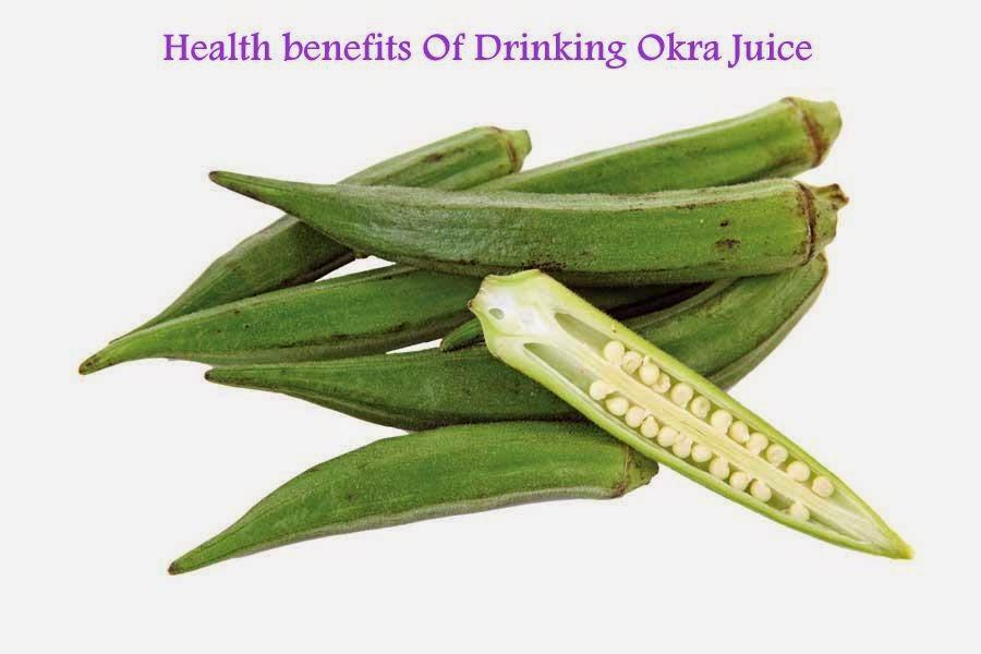 Health Benefits Of Okra Juice