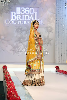 Shaiyanne Malik Bridal Collection At Style 360 Bridal Couture Week 2011 Karachi