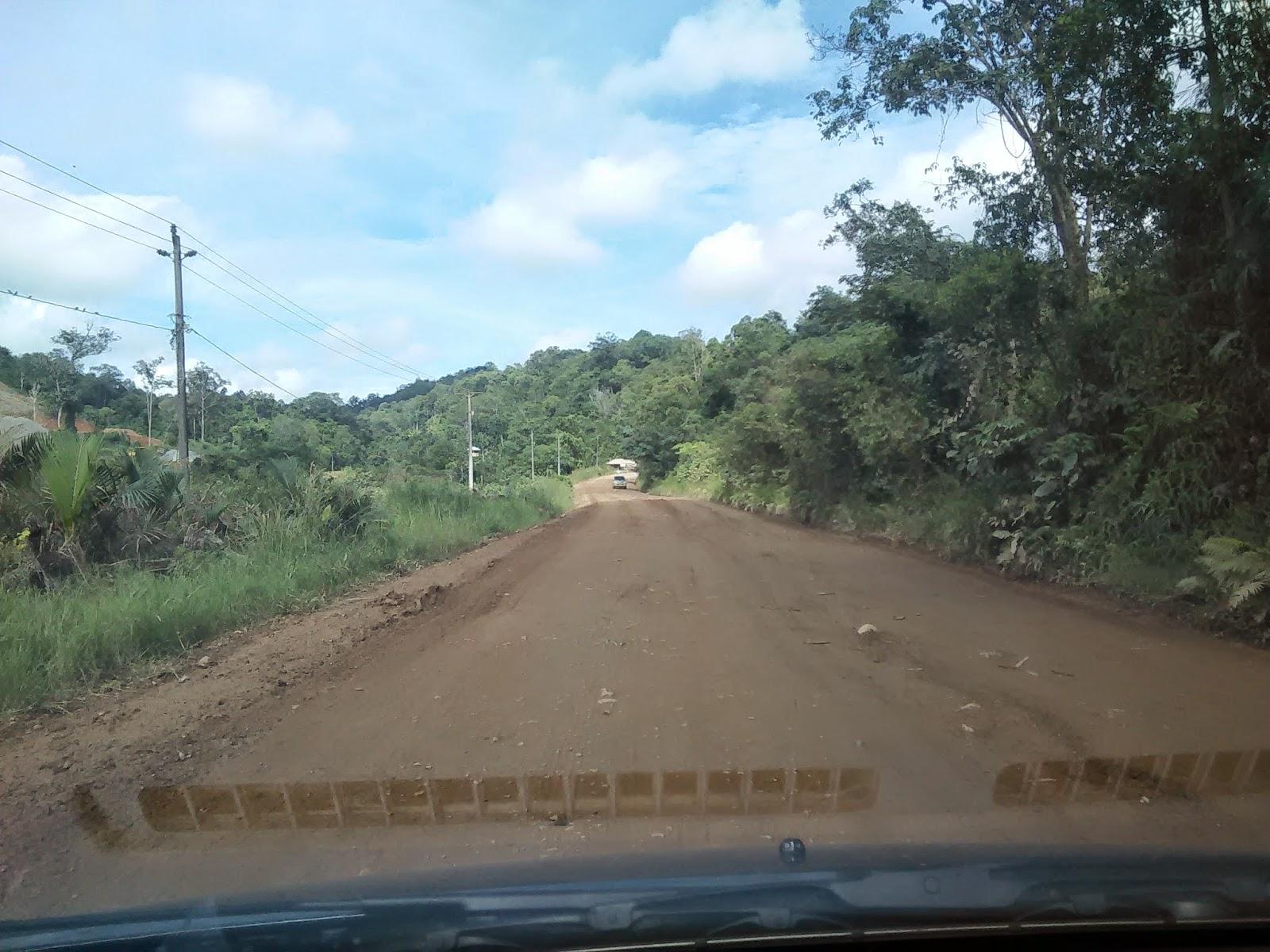 Jalan Tayan - Sosok ini rosak teruk