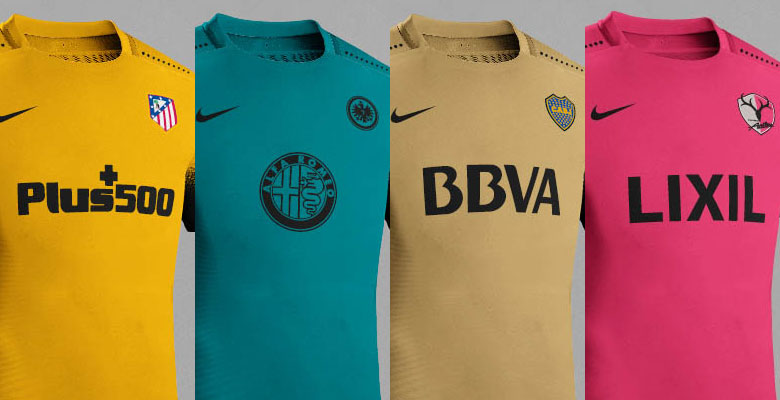 In a project of unprecedented extent, Dorian from La Casaca has created 25  different Nike 2015-2016 Third Kits drawing inspiration from the new Nike  15-16 ...
