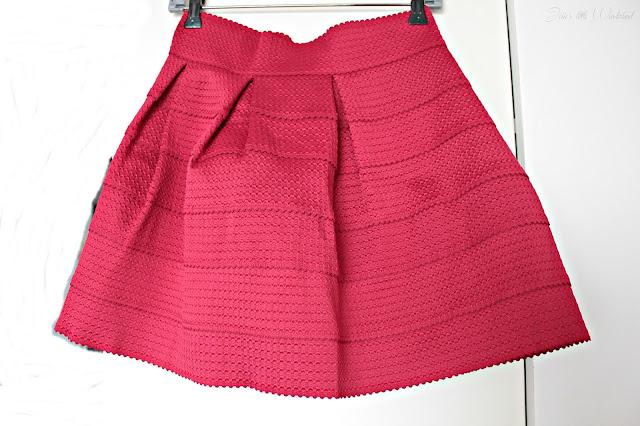 Fashion | Novemberausbeute, blog, shoppingausbeute, josie´s little wonderland, november, skirt, red, red skirt, new yorker