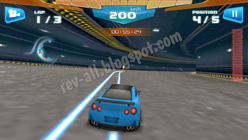 Mulai Bermain Fast Racing 3D (rev-all.blogspot.com)