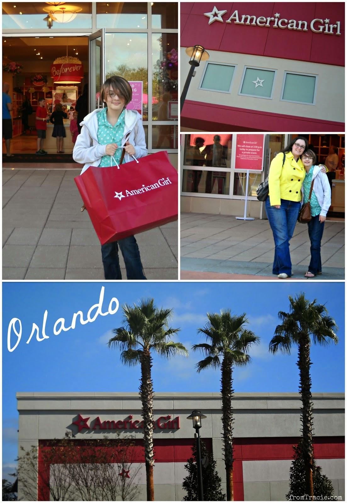 American Girl Store Orlando - Florida Mall
