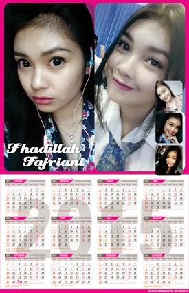 Template Kalender Gantung 2015