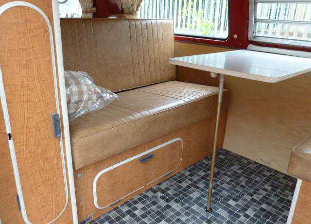 1970 westfalia 640 461 campervans and for Interior westfalia