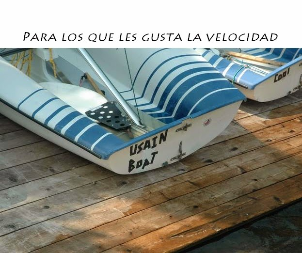 Nombres de barcos - Usain Boat